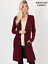 NEW-Plus-Size-Open-Front-Long-Duster-Cardigan-Sweater-w-Side-Pockets-XL-1X-2X-3X thumbnail 7