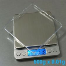 500gx001g Food Electronic Weighing Scale Digital Measuring Gram Accurate Withtray