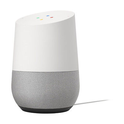 Google Home Hands-Free Smart Speaker and Voice Controlled Home Assistant - White