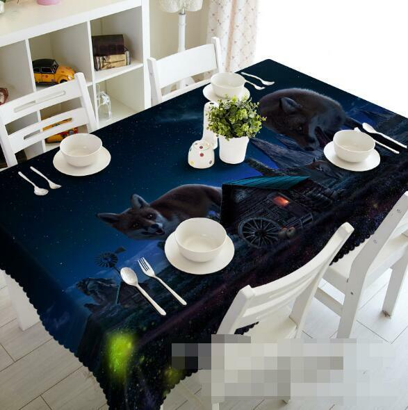 3D Cartoon 7 Tablecloth Table Cover Cloth Birthday Party Event AJ WALLPAPER AU