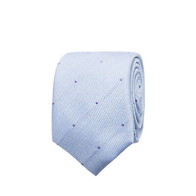 NEW Ben Sherman Spot Tie Blue