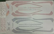HONDA VF750F VF750FD  MODEL  FULL PAINTWORK DECAL KIT