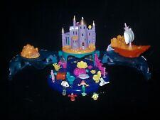 EUC 100% Vintage Disney Polly Pocket Ariel Undersea Kingdom 1996 RARE VARIATION