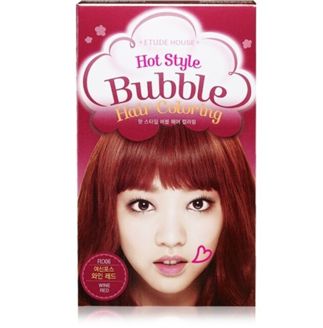 *ETUDE HOUSE* Hot Style Bubble Hair Coloring ( #RD06 Wine Red)**New**