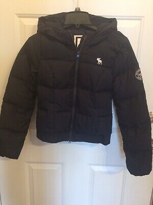 Jacket Girls Size Kids Hooded Puffer XlEbay Abercrombie Navy uTK13JlFc