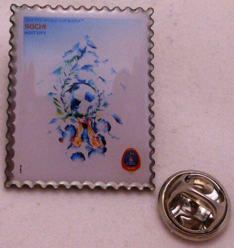 Pin // Anstecker Fußball FIFA Weltmeisterschaft 2018 Rußland 100 Plakat #11