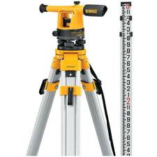 DEWALT 200ft. Manual Leveling 20x Builders Level Package DW090PK New