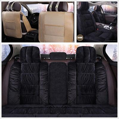 Winter Warm Comfortable Car Interior Accessories 3D Plush Seat Cover Cushion Mat  eBay