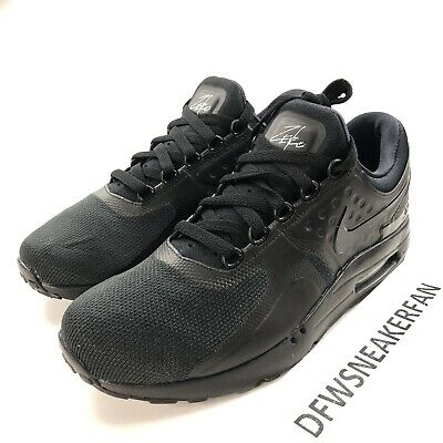 Nike Air Max Zero Essential Triple Black 876070 006