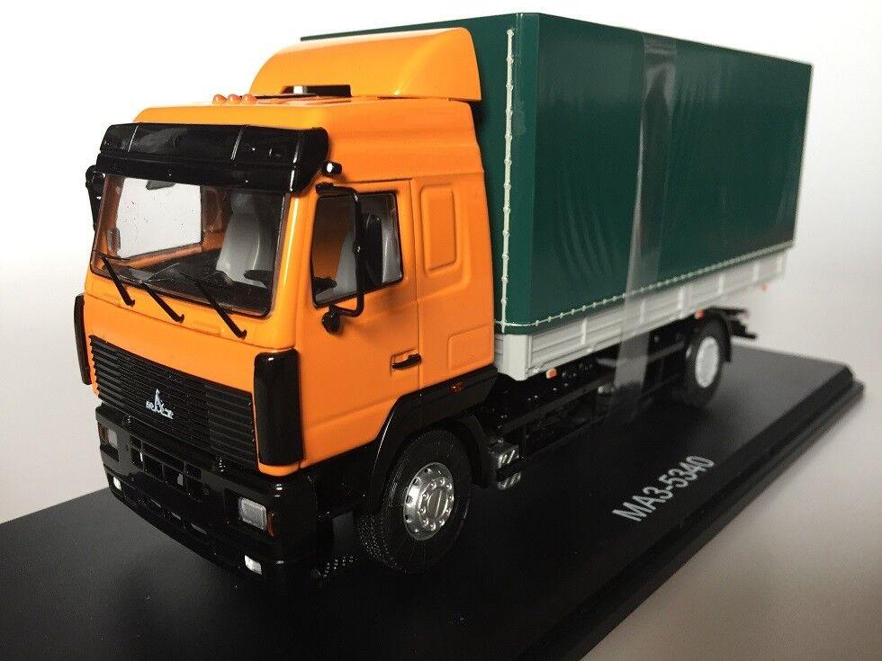 1 43 SSM1215 MAZ 5340 flatbed Truck SSM