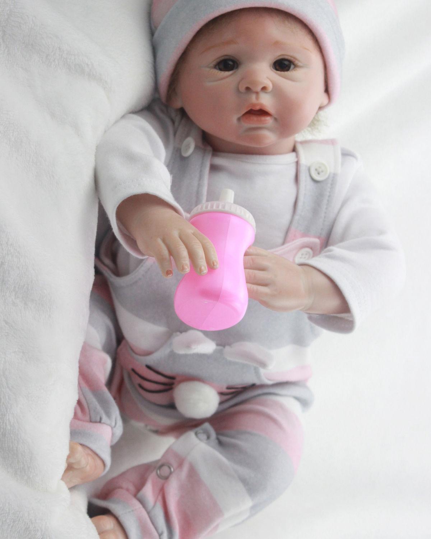 20  muñeca bebé realista Reborn Recién nacido hecho a mano real que buscan realista Niña Niño