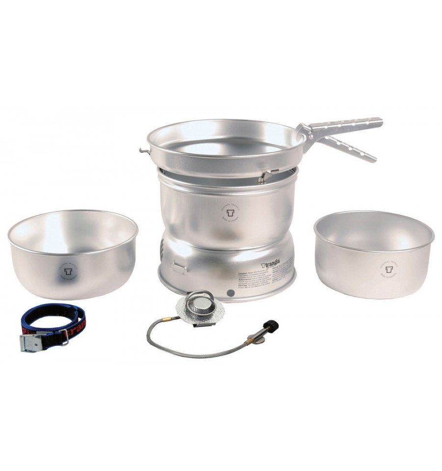 Trangia 27-1 Alloy Pans with Gas Burner Cookset