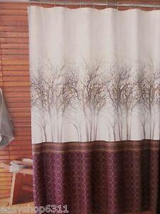 Image Is Loading Parker Loft 034 Dawson Plum Shower Curtain
