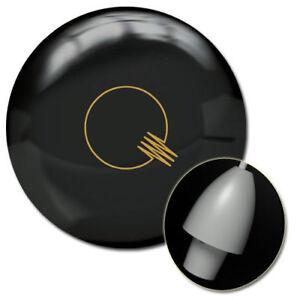 Brunswick-Quantum-Classic-Black-Bowling-Ball-1st-Quality-15-Pounds-3-4-034-Pin