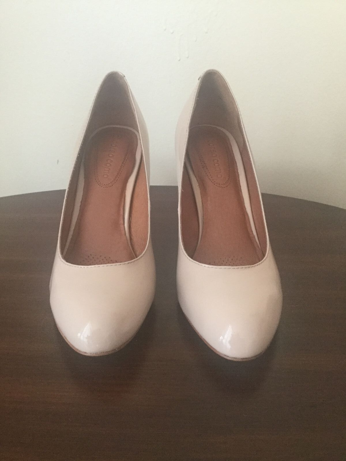 New CORSO COMO Del Pump Shell Patent Leather Shoes 7