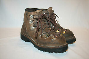 Vtg 70s Vasque Hiking Boots 6 5 N Usa Leather Euc Vibram