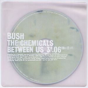 BUSH-The-Chemicals-Between-Us-1999-Euro-1-trk-promo-CD-SEALED