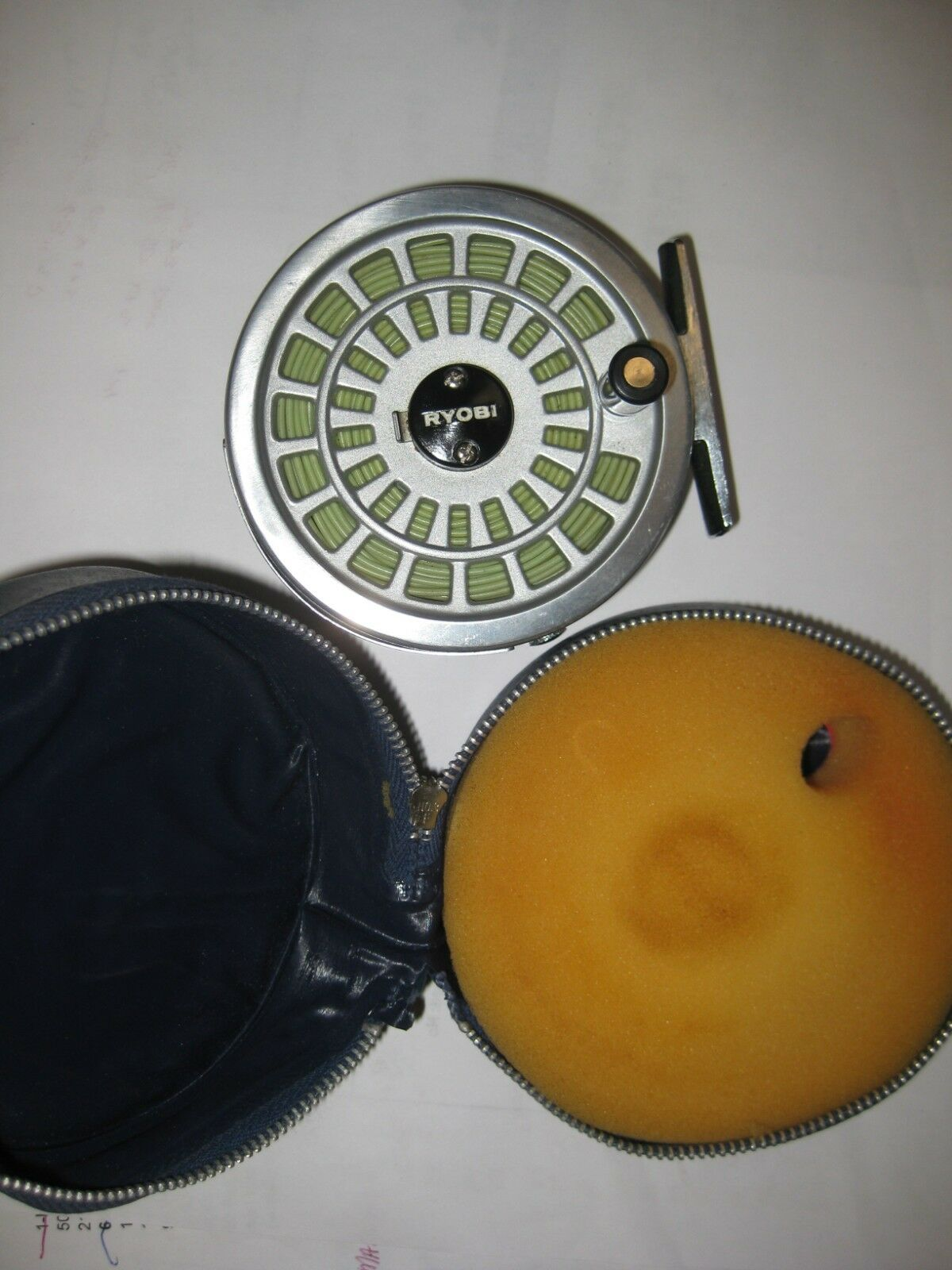 Vintage Ryobi 355 Fly Fishing Reel and Case