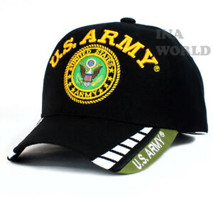 c753d871523 U.S. ARMY hat Military ARMY Logo Official Licensed Baseball cap ...