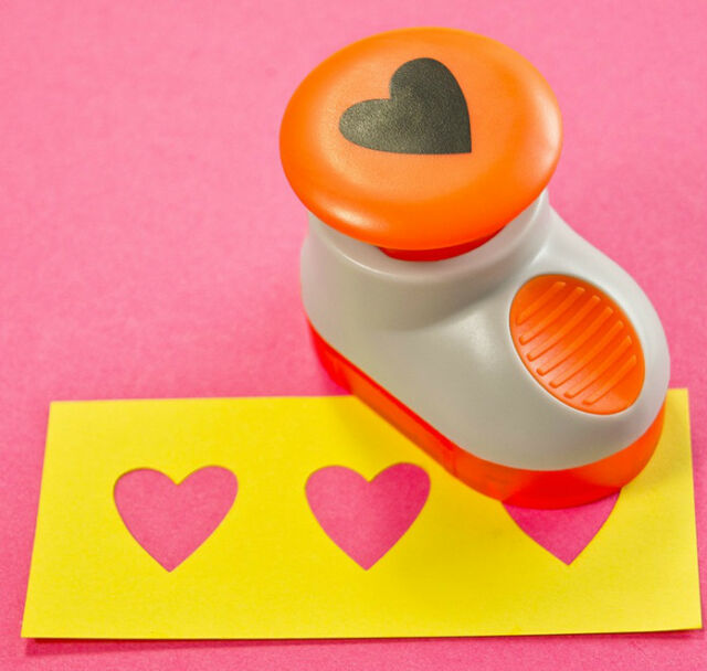 """Tonic heart hole punch 856E 3/4"""" (20mm) Can be used with the border system"""