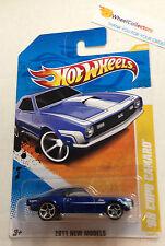 '68 Copo Camaro #25 BLUE * New Models * 2011 Hot Wheels * Z18