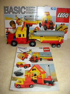 LEGO-BASIC-set-nr-740-Lorry-in-good-working-condition-batteries-included