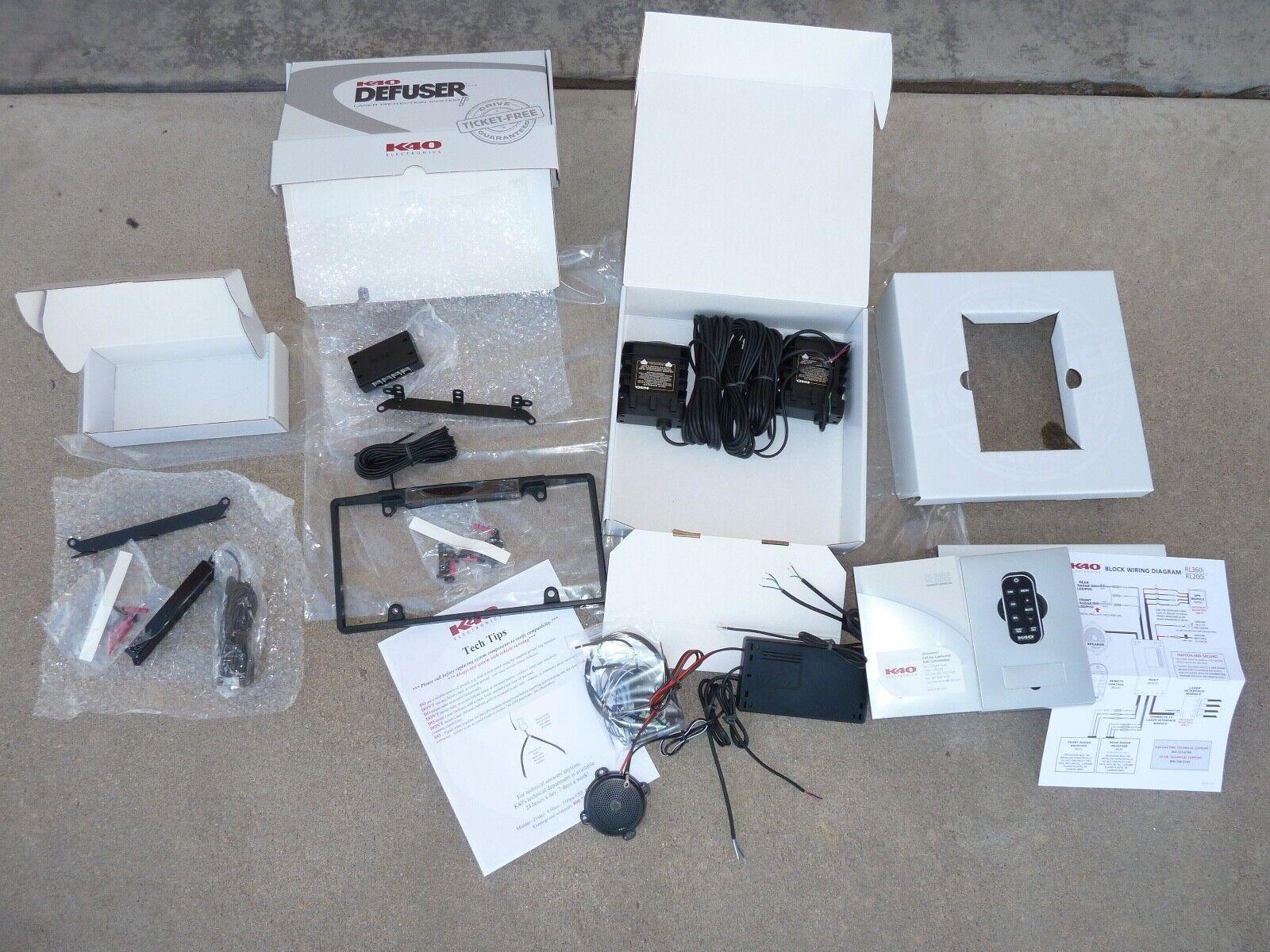K40 Rl360i Built-in Radar Detector Complete Kit 2 Transponders for sale  online | eBayeBay