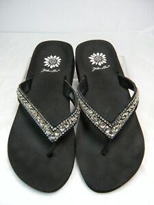Details zu Yellow Box Flip Flops Sandals Size 6.5