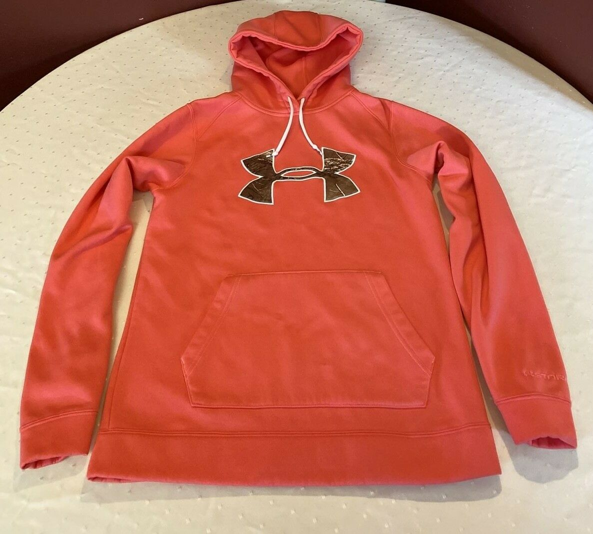 Under Armour women's semi fitted cold gear pullover hoodie size SM/P/P
