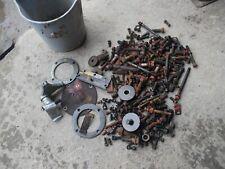 Farmall H Ih Tractor Original Assortment Bolts Nuts Parts Pieces Springs Etc
