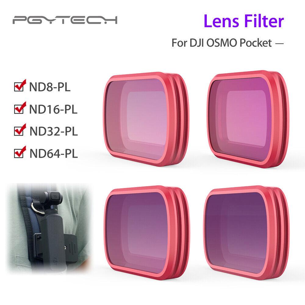 Pgytech Lente Filtro ND8-PL ND16-PL ND32-PL ND64-PL para DJI OSMO bolsillo móvil