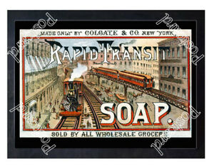 Historic-Rapid-Transit-Soap-Advertising-Postcard