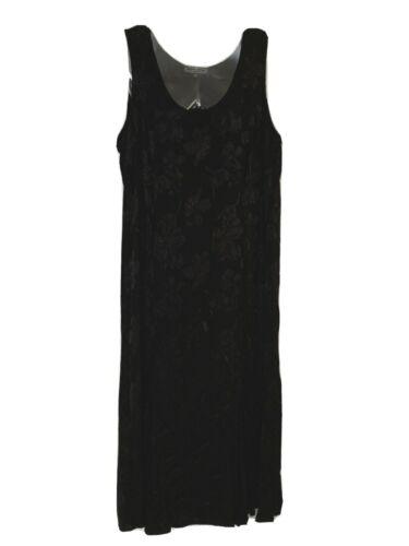 Violet Kay Long Black Dress, Women's Plus Size 2X,