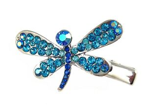 Crystal Dragonfly Hair Clip Perfect For Coraline Costume Free Shipping Blue Ebay