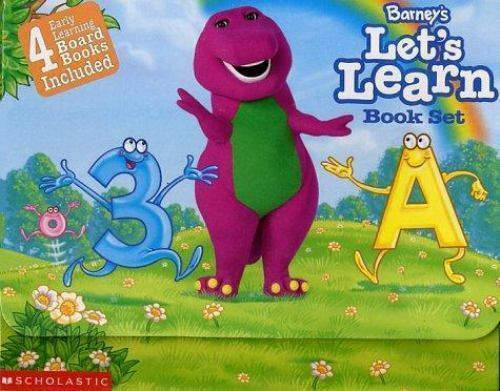 """""""Barney's """"""""Let's Learn"""""""" Boxed Set by Dudko, Mary Ann """""""