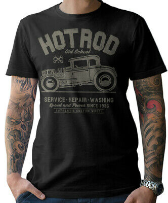 Drive It Like You Stole It T-Shirt MuscleCar Old School Tuning v8 hot rod skull