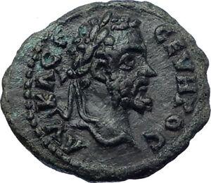 SEPTIMIUS-SEVERUS-193AD-Nicopolis-ad-Istrum-Ancient-Roman-Coin-Aequitas-i73460