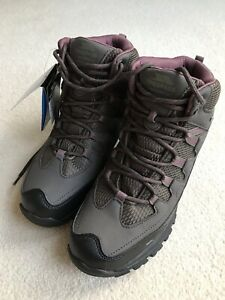 TRESPASS MITZI Womens UK6 EUR 39 Hiking Boots Trail Walking COFFEE BROWN NEW!