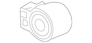 Genuine GM Lower Control Arm Rear Bushing 84008847