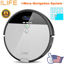 Mops Ambitious Rechargeable Automatic Cleaning Robot Smart Sweeping Robot Vacuum Floor Dirt Dust Hair Cleaner Round Mop Microfiber Mop Pads