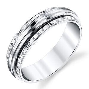 925-Sterling-Silver-Mens-Wedding-Band-Ring-Spinner-Center-SEVB025