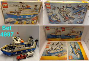 Game-Gioco-LEGO-Creator-2008-Completo-4997-1-Nave-Traghetto-Transport-Ferry
