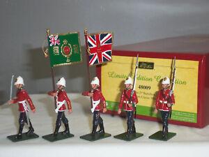 Britains 48009 guerre zoulou britannique soldat de jouet en métal parti parti couleur pied 884101480097