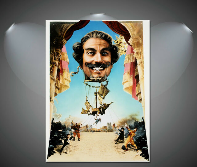 Baron Munchausen Classic Vintage Movie Poster - A1, A2, A3, A4 sizes