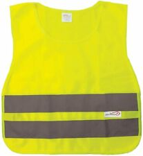 Reflective Safety Vest For Child Lightweight Polyester Yellow 2 Pack