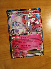 NM Pokemon DIANCIE EX Card FATES COLLIDE Set 72/124 XY X and Y Ultra Rare 150 HP