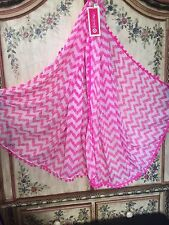 Lilly Pulitzer Target Scarf Pink Pom Poms Belladonna Pineapples Wrap