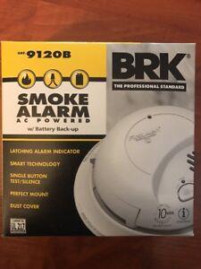 BRK 9120B First Alert Smoke Alarm Detector Battery Backup 120V