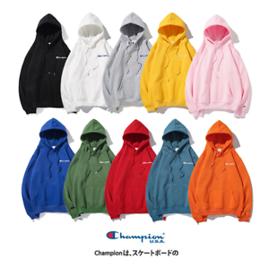 New-Women-039-s-Men-039-s-Classic-Champion-Hoodies-Embroidered-Sweatshirts-Long-Sleeve