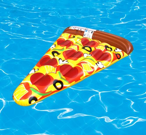 Kinderbadespaß Best Sporting Pool Matratze 170x110 cm Pizza Party Luftmatratze Strand Wasser